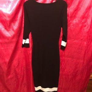 Venus Black Sweater Dress  Size L